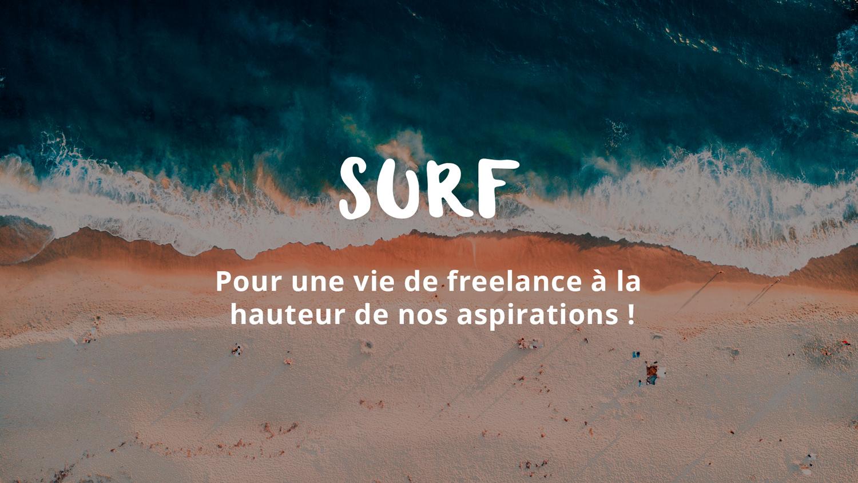 Formation Surf sur les vagues de ta vie de freelance